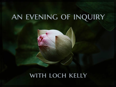An Evening of Inquiry: Recorded Class with Loch Kelly