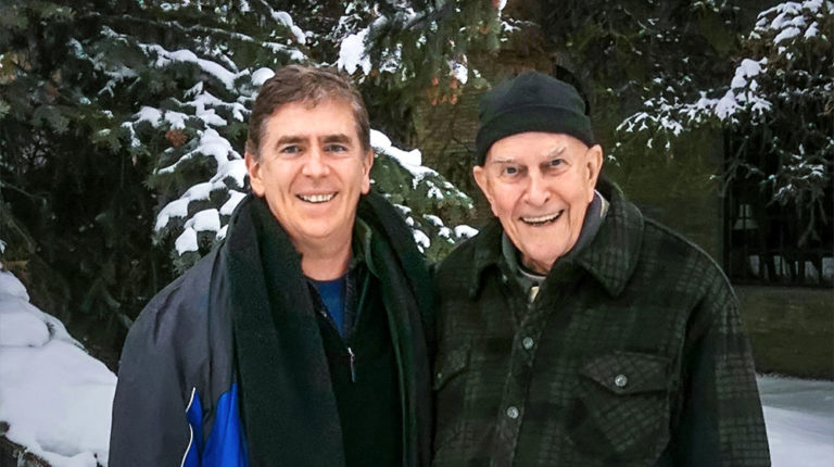 Loch Kelly and Father Thomas Keating