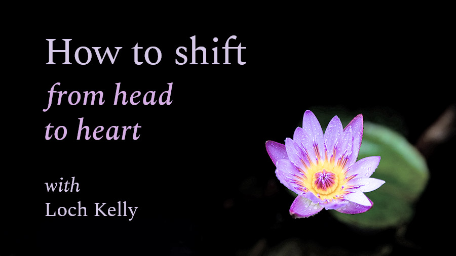How to Shift from Head to Heart, a video by Loch Kelly